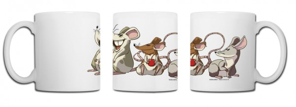 Design Tasse – Ratte China Edition Marco Knorr