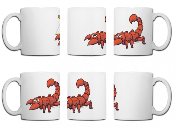 Design Tasse – Skorpion Edition Marco Knorr