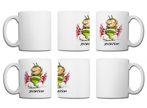 Design Tasse - Skorpion Edition 1 Reiner Stolte