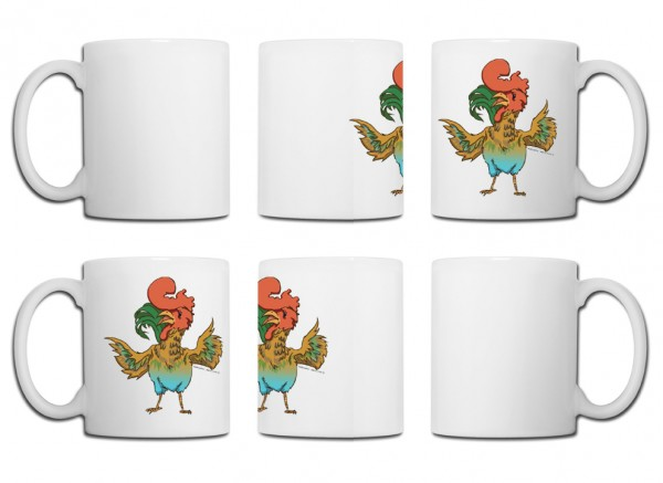 Design Tasse – Hahn China Edition Marco Knorr