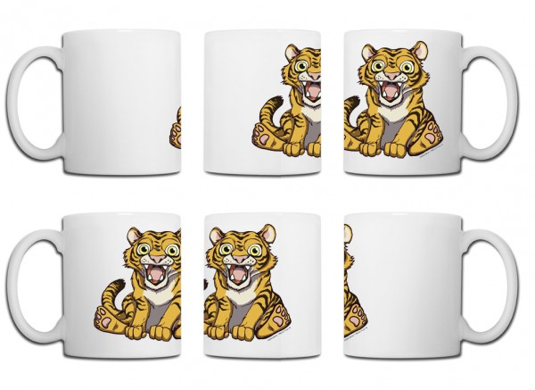 Design Tasse – Tiger China Edition Marco Knorr